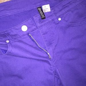 Indigo Divided Jeggings (size 6)